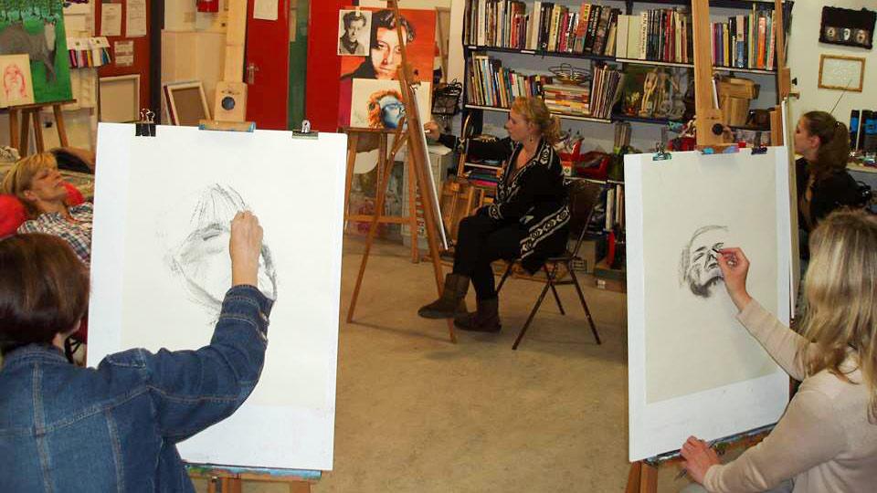 Portrettekenen
