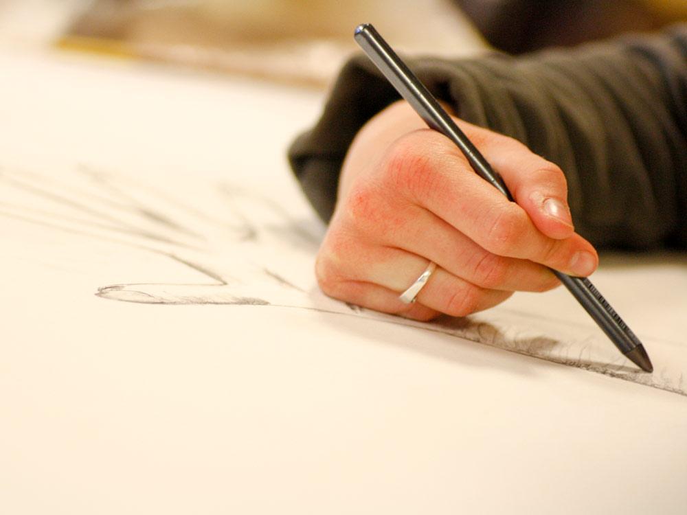 Leer tekenen naar de waarneming bij Studio Xplo in Tilburg