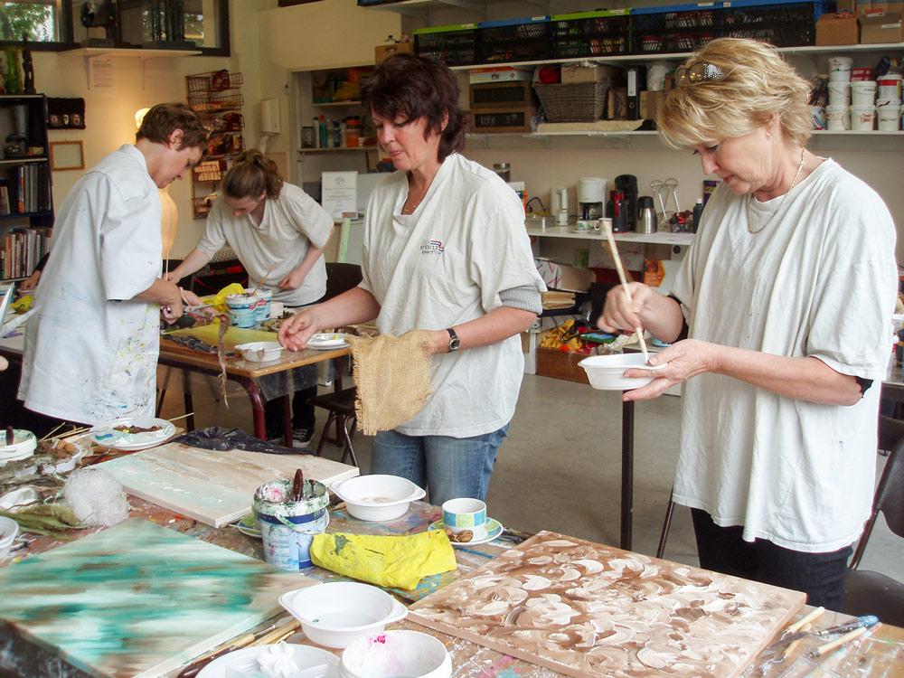 Workshop Extreem acryl bij Studio Xplo in Tilburg