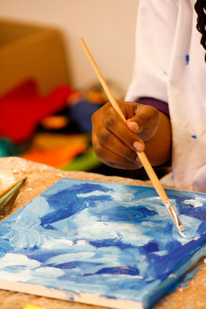 Jongeren cursus schilderen bij Studio Xplo in Tilburg