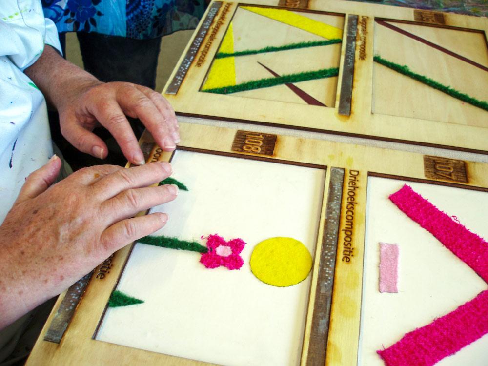 Leren op de tast met de Taktila methode van Jofke