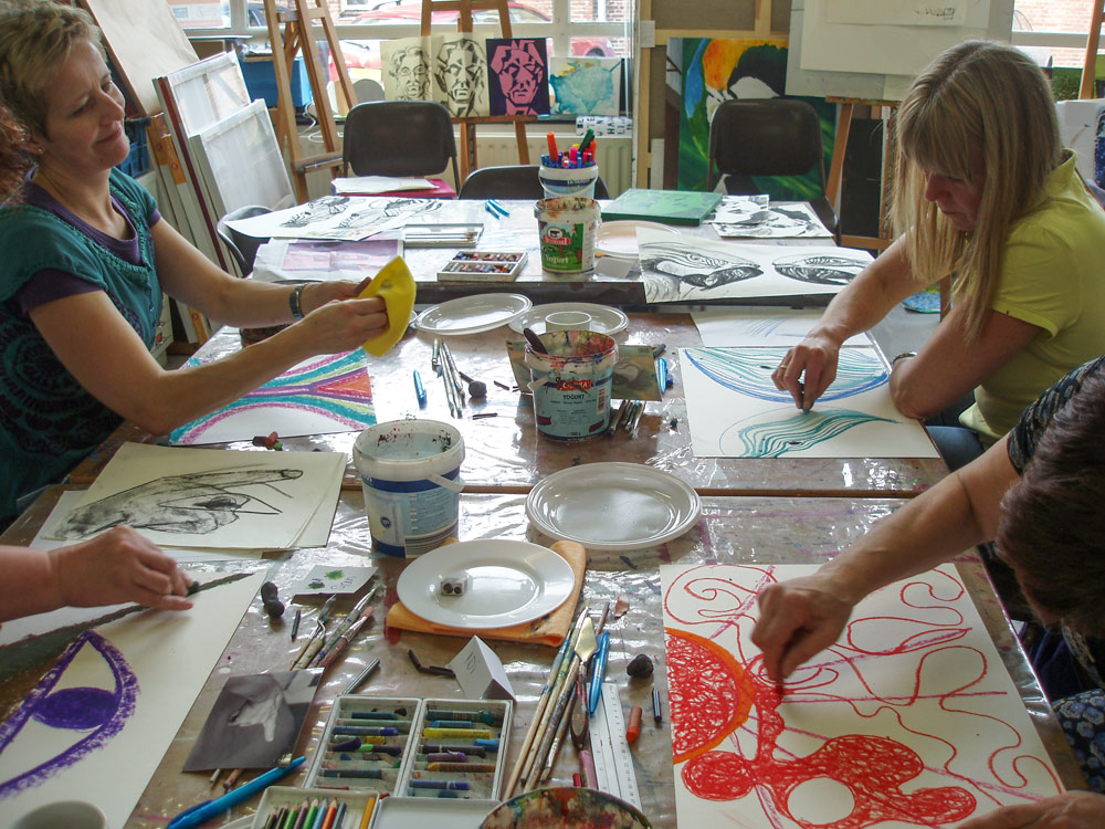 Schilderen als Picasso bij Studio Xplo in Tilburg