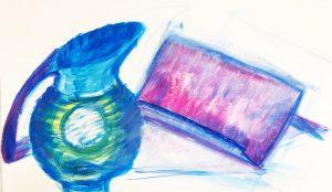 Oefening stilleven schilderen