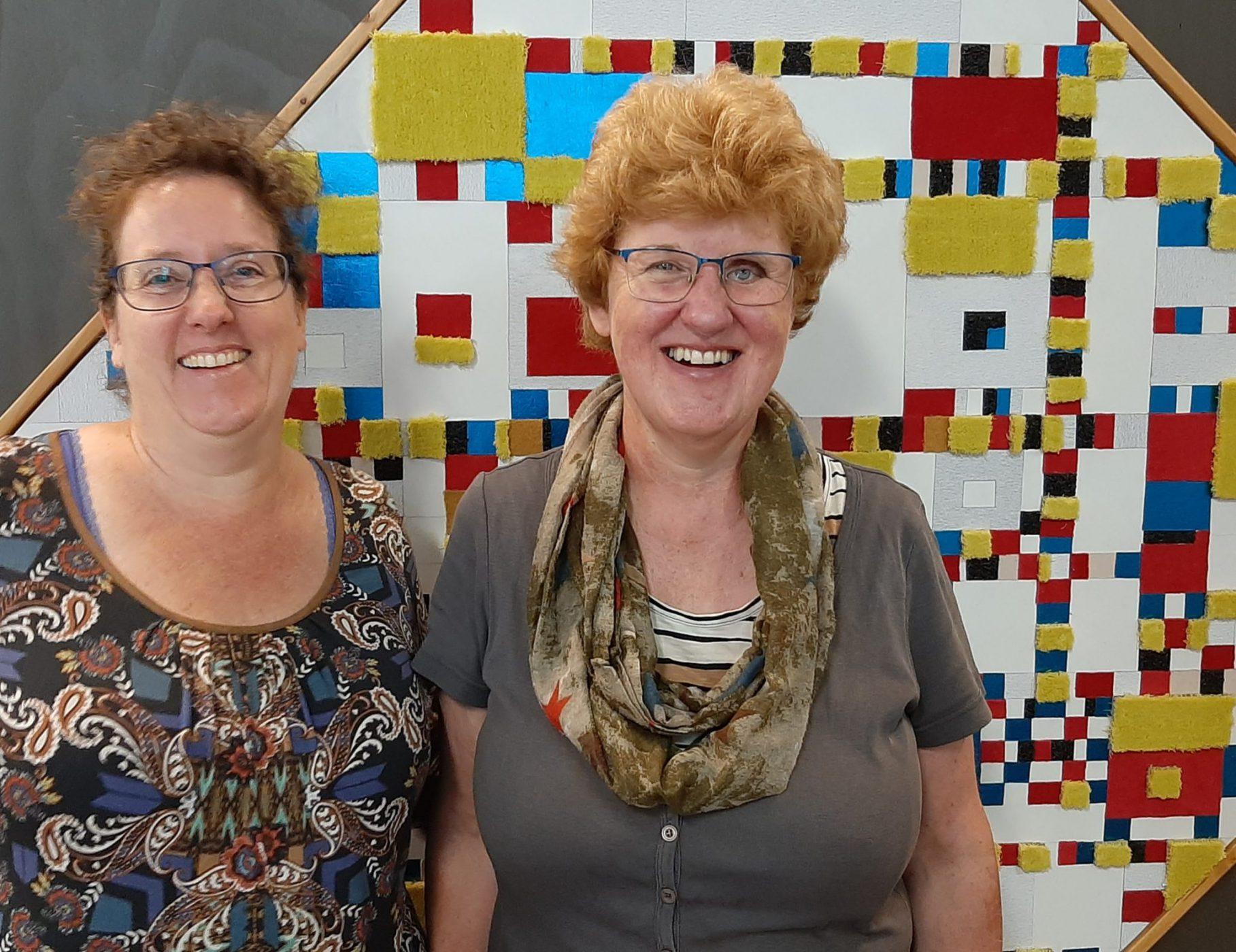 Peggy en Ivonne bij Studio Xplo